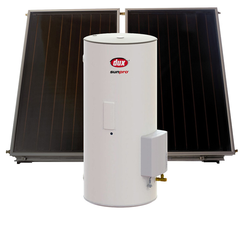 Dux Electric Boosted Solar Hot Water