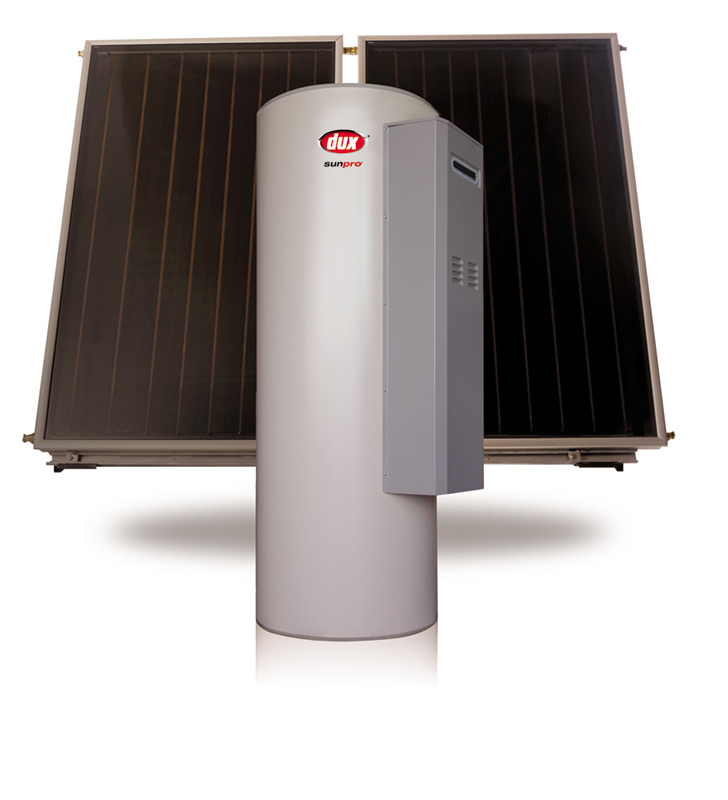 Dux Gas Boosted Solar Hot Water
