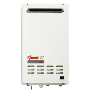 Rheem Continuous Flow outdoor